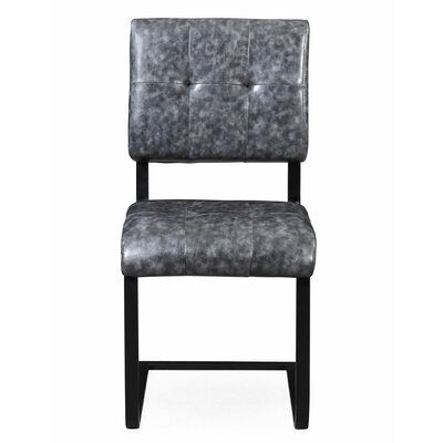 Fawn Side Chair Upholstery Color: Gray