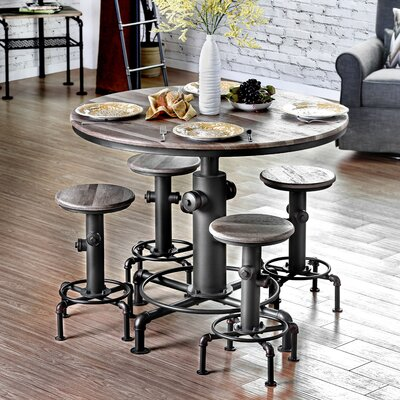 Poncha Counter Height Pub Table Set