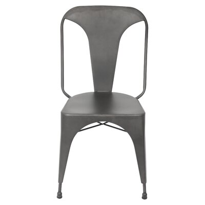 Marie Side Chair Upholstery: Grey