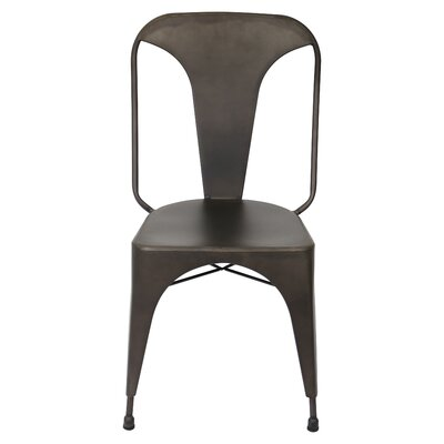 Marie Side Chair Upholstery: Antique
