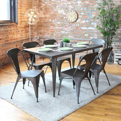 Marie Dining Table Finish: Antique