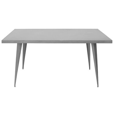Marie Dining Table Finish: Grey
