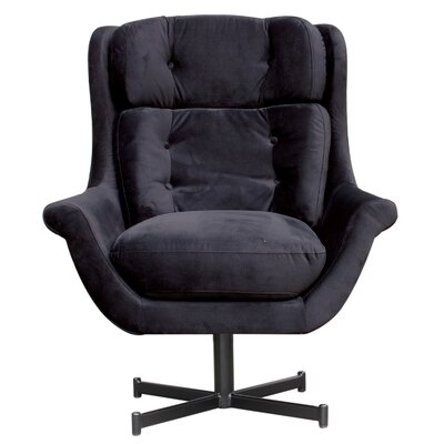 Jordy Armchair Upholstery Color: Black