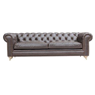 Alek Chesterfield Sofa Color: Shadow