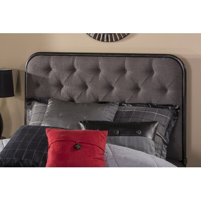 Minco Upholstered Panel Headboard Size: King