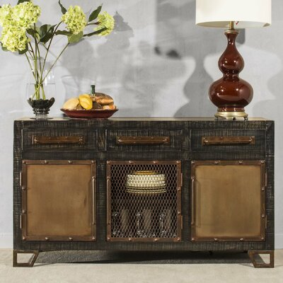 Fontanelle Console Table Finish: Black