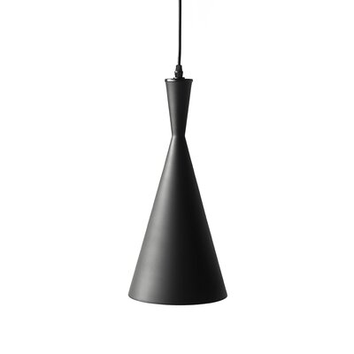 Kobuk 1-Light Mini Pendant Color: Black