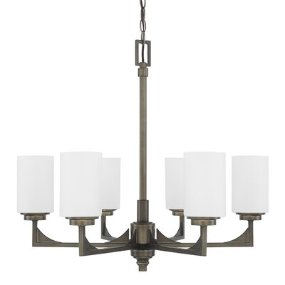 Bowdoin 6-Light Shaded Chandelier