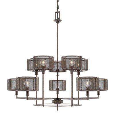 Missouri 10-Light Shaded Chandelier