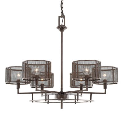 Falite 6-Light Shaded Chandelier