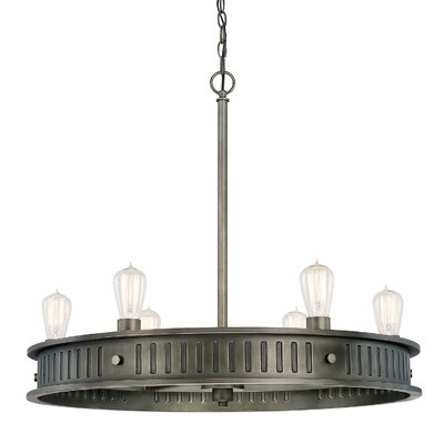 Oilton 6-Light Candle-Style Chandelier