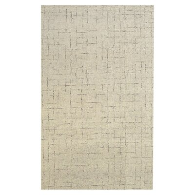 Breonna Hand-Tufted Beige Area Rug Rug Size: Rectangle 36 x 56