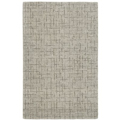 Glenn Hand-Tufted Beige Area Rug Rug Size: Rectangle 36 x 56