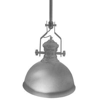 Aidan 1-Light Mini Pendant Finish: Satin Chrome