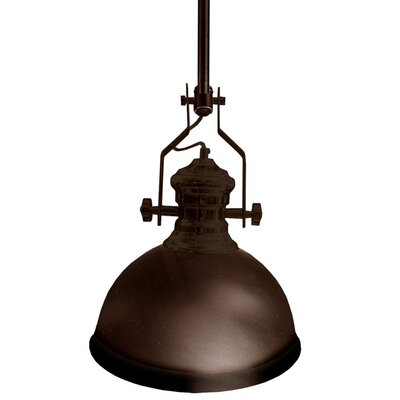 Aidan 1-Light Mini Pendant Finish: Vintage Oiled Bronze