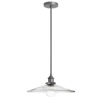 Mallen 1-Light Mini Pendant Finish: Satin Chrome