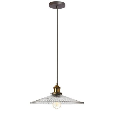 Mallen 1-Light Mini Pendant Finish: Vintage Steel
