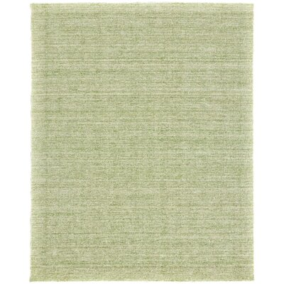 Monument Hand-Woven Wool Sea Glass Area Rug Rug Size: Rectangle 79 x 99