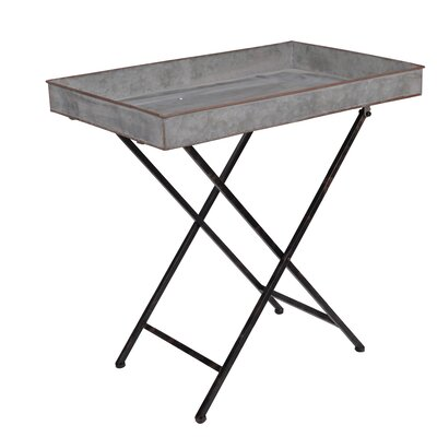 Nashua Metal End Table