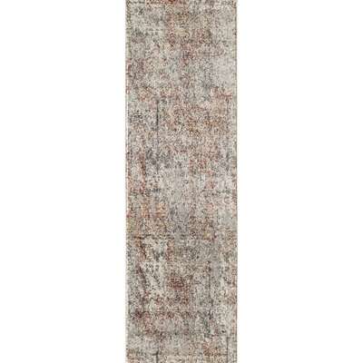 Khalil Gray/Brown Area Rug Rug Size: Runner 23 x 76