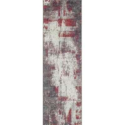 Terry Gray Area Rug Rug Size: 710 x 910
