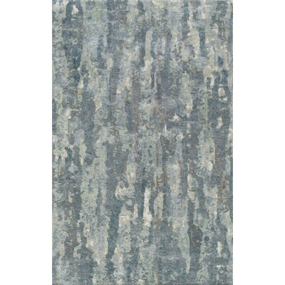 Davis Abstract Hand-Tufted�Gray Area Rug Rug Size: 76 x 96