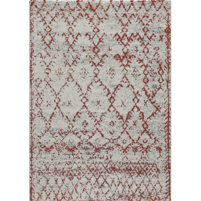 Terry Rust Area Rug Rug Size: 93 x 126