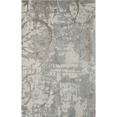 Stanford Hand-Tufted Gray/Beige Area Rug Rug Size: Rectangle 5 x 76