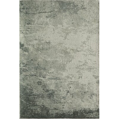 Raiden Abstract Hand-Tufted Green/Ivory Area Rug Rug Size: Rectangle 2 x 3
