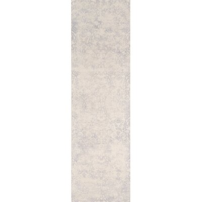 Stanford Hand-Tufted Gray/Ivory Area Rug Rug Size: Runner 2'3