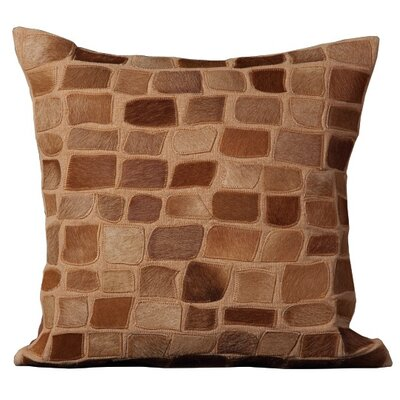 Dymalor Throw Pillow Color: Amber