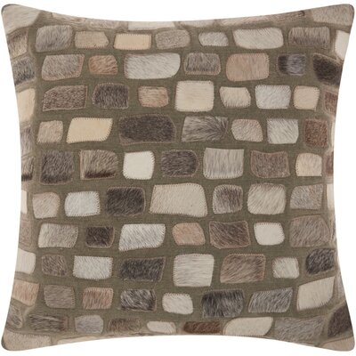 Dymalor Throw Pillow Color: Silver
