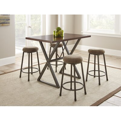Red Cliff 5 Piece Counter Height Dining Set