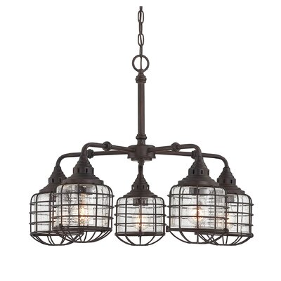 Roberts 5-Light Shaded Chandelier
