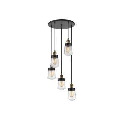 Alden 5-Light Cascade Pendant