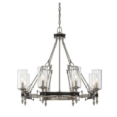 Parker 8-Light Candle-Style Chandelier