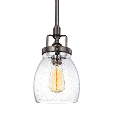 Panorama Point Heirloom Bronze 1-Light Mini Pendant