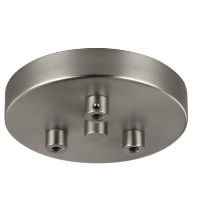 Migel 3-Light Foyer Canopy Finish: Satin Nickel