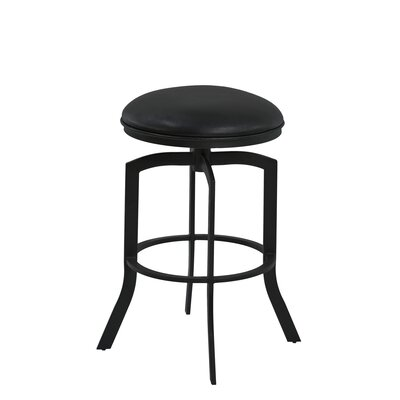 Haysi 30 Swivel Bar Stool Finish: Black