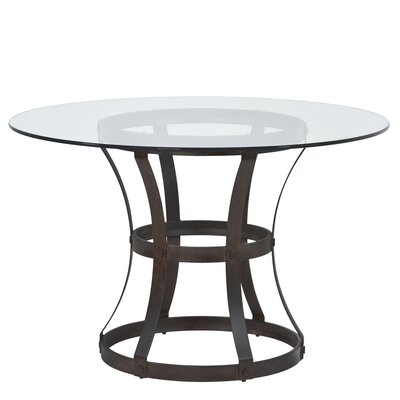 Anya Dining Table Base Finish: Auburn Bay