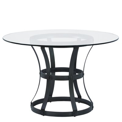 Anya Dining Table Base Finish: Mineral