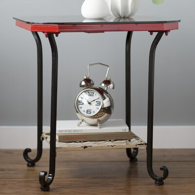 Amirah Clock End Table