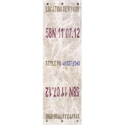 Sylvanite Area Rug Rug Size: Runner 26 x 8