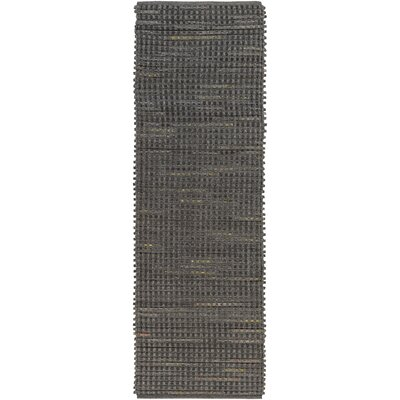 Bancroft Gray Indoor/Outdoor Area Rug Rug Size: Runner 26 x 8