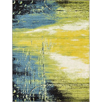 Silver Hills Light Green Area Rug Rug Size: 9 x 12