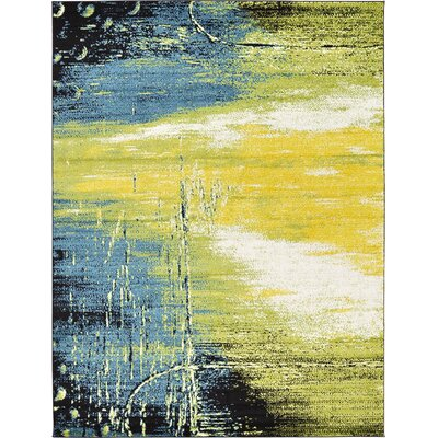 Silver Hills Light Green Area Rug Rug Size: 8 x 10