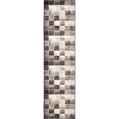 Silverheels Light Brown Area Rug Rug Size: Runner 27 x 10