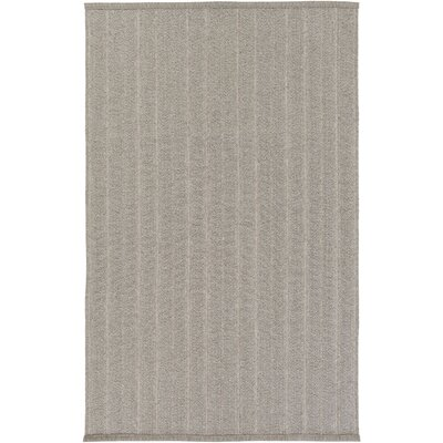 Philip Hand-Woven Taupe Indoor/Outdoor Area Rug Rug size: 4 x 6