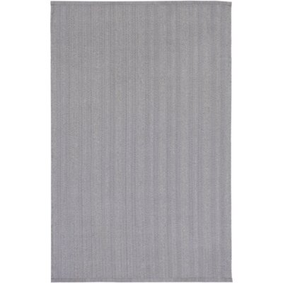 Philip Hand-Woven Light Gray Indoor/Outdoor Area Rug Rug size: Rectangle 5 x 76