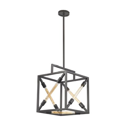 Zahara 5-Light Geometric Pendant